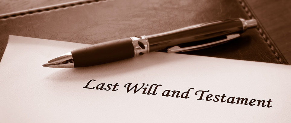 Be sure to have a Will in place, to ensure your wishes are carried out - Zande Law